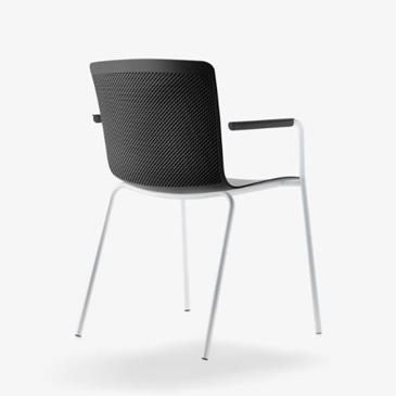Glove meeting chair