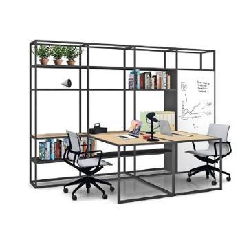 Kado desks with storage space