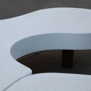 Natural Puzzle monolithic bench