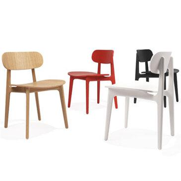 PLC cafe chair, collection of colours