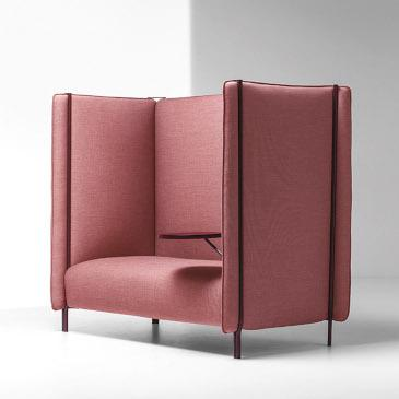 LaCividina Pinch sofa in pink