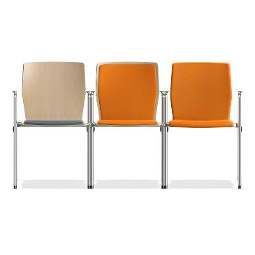 Interlink stacking chair