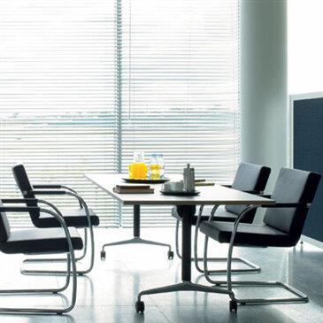The Obvio Flip Top Table, by Orangebox, is an adaptable essential for the workplace. The table can be reconfigured into a larger or smaller workplace, dependent upon your needs and are available in a wide range of finishes.