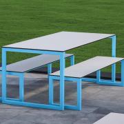 Block Steel Bench System