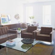 Florence Knoll lounge chair and Relaxed armchair