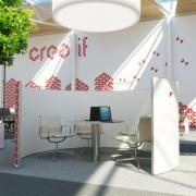 Cocoon fabric screens