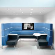 Hive with legs modular seating