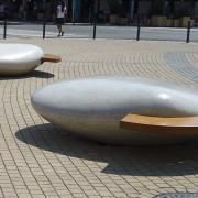 Moonstone bench