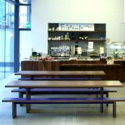 Waldo Bench & Waldo 45 Cafe Tables