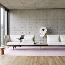 Vitra Soft Work modern working space in white