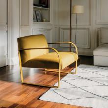 Acros Armchair yellow