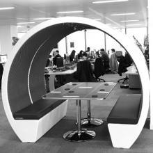 The Meeting pod 4 person open