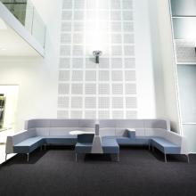 Hive with legs modular seating, from Roger Webb Associates