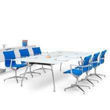 Unitable glass Meeting Table