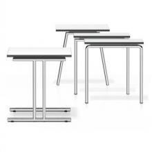 Lacrosse Folding Table in white by Casala