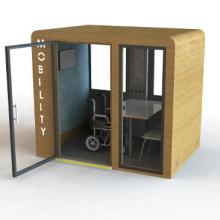SBS Mobility pod in Oak