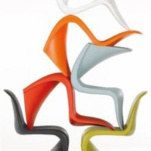 Flexible Plastic Panton Chair assortment