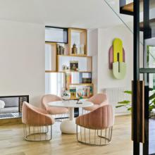 Sancal Vesper table with Tonella dining chairs