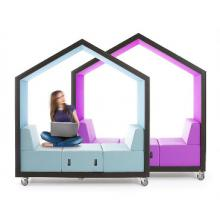 Treehouse mobile meeting bays