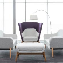 Harc seating, designed by Roger Webb Associates.