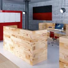 Craftwand office desks layout