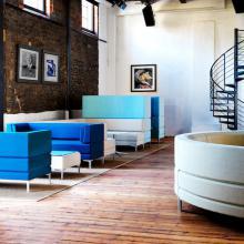 Henray seating system, designed by Henry Gurney.