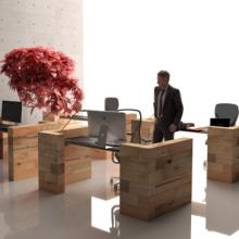 Craftwand desks for office environment