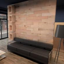 Craftwand feature reception wall closed format